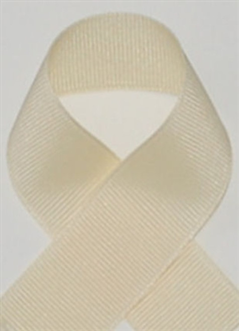 Creme Grosgrain Ribbon by Schiff Ribbons