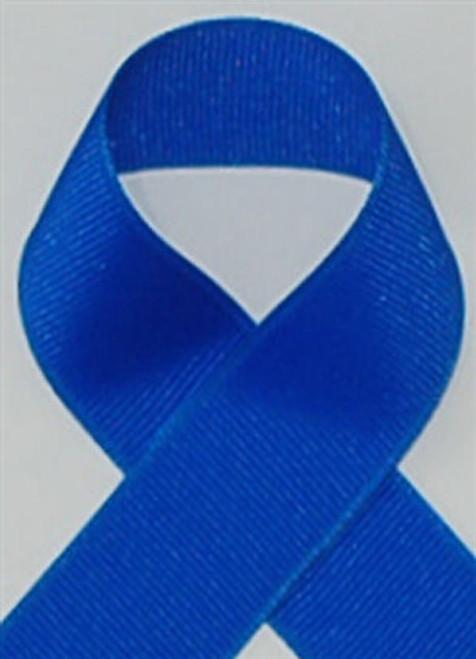Schiff Electric Blue Grosgrain Ribbon