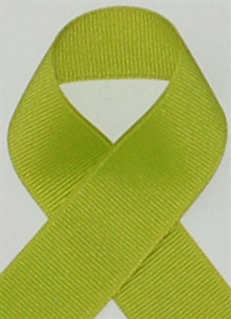 Schiff Lime Grosgrain Ribbon