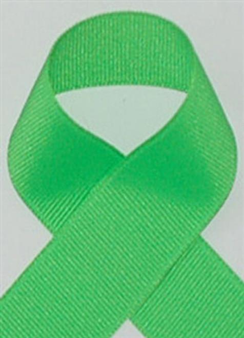 Schiff Neon Green Grosgrain Ribbon