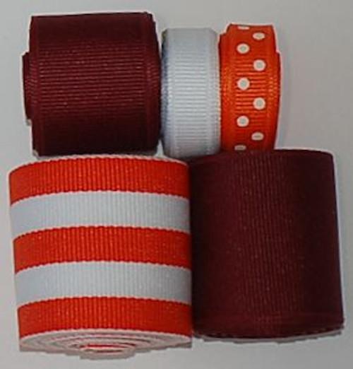 Virginia Tech Ribbon Sets   College Ribbon