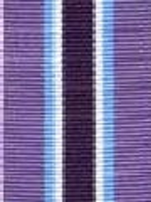 Grape Juice Preppy Stripe Ribbon
