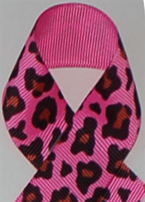 Fruit Punch Leopard Grosgrain Ribbon