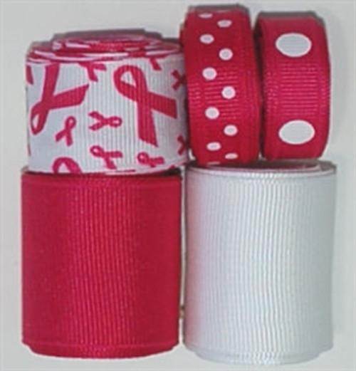 Awareness Shocking Pink Ribbon Mix