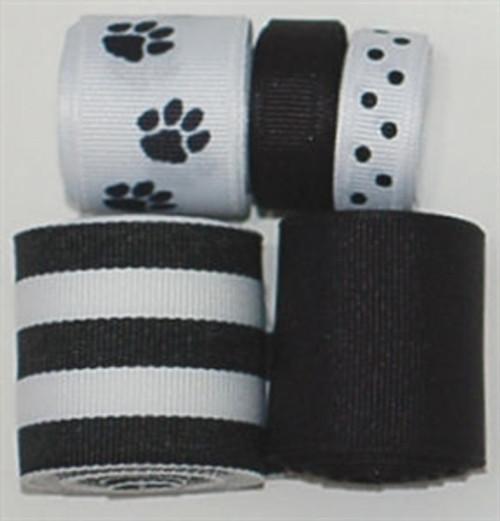 Black Paws Ribbon Mix