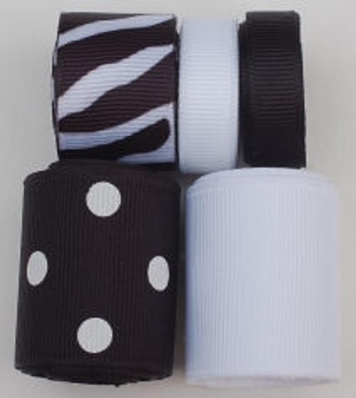 Zebra Ribbon Mix