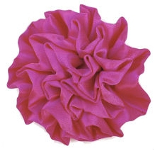 Satin flowers -Hot Pink