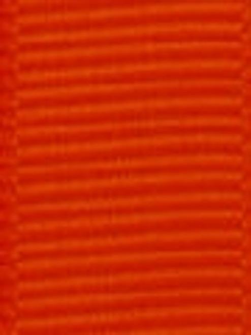Tangerine Grosgrain Hair Ribbon