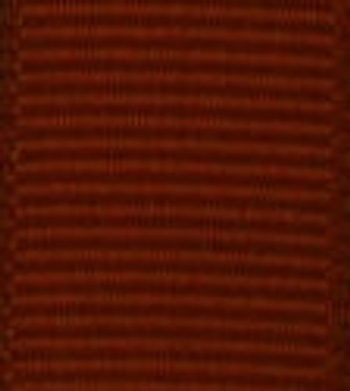 Rust Grosgrain Hair Ribbon