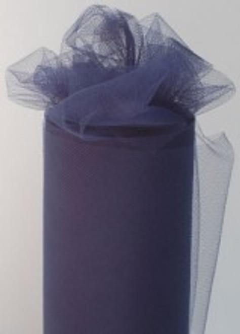 Navy Tulle Fabric