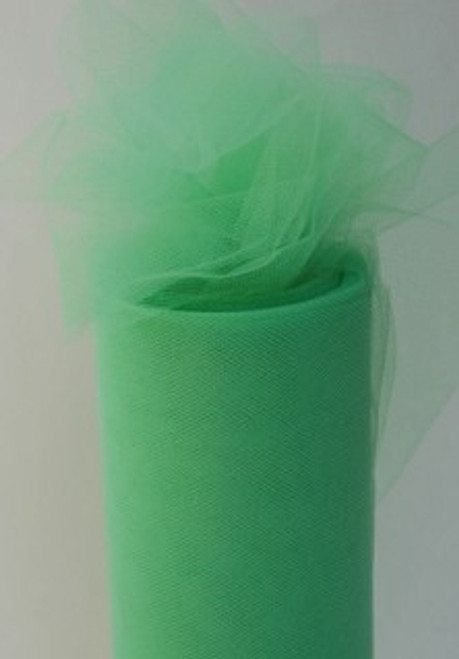 Lime Tulle Fabric