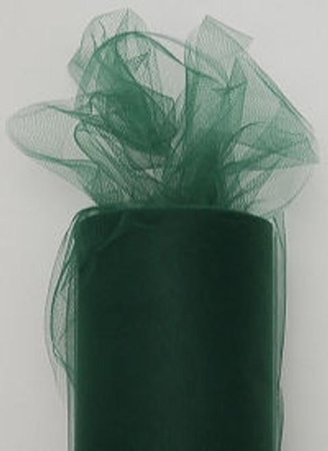 Hunter Green Tulle Fabric