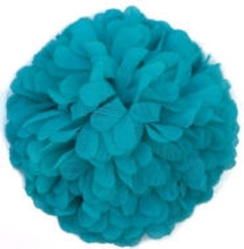 Chiffon flowers -Turquoise
