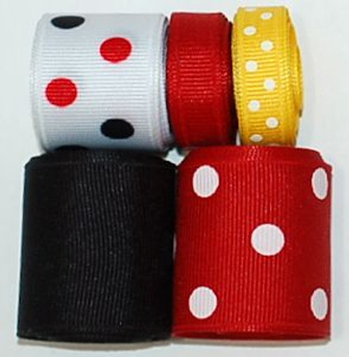 MIckey Mouse Ribbon Set