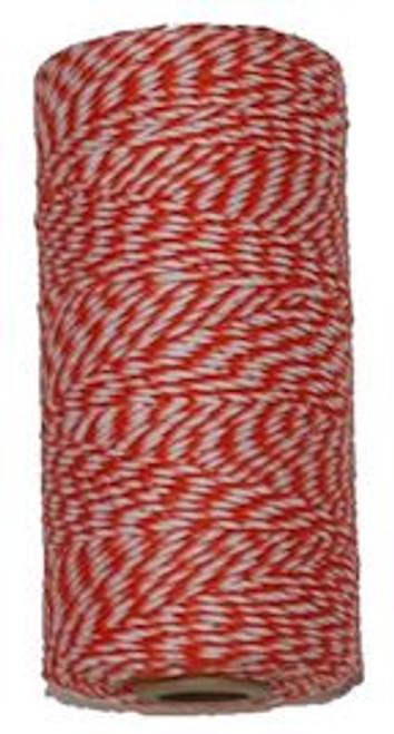 Orange Bakers Twine. Sold in Rolls of 240 yards. Great For Packaging.
