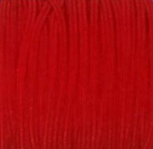 Red Skinny Elastic for sewing, baby headbands and available in 24 colors