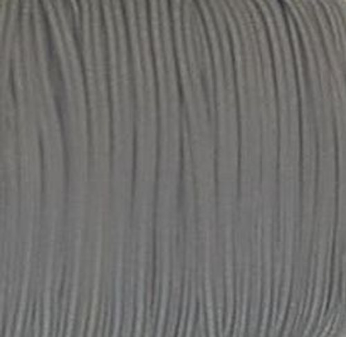Grey Skinny Elastic for sewing, baby headbands and available in 24 colors
