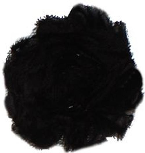 Black Chiffon Flower
