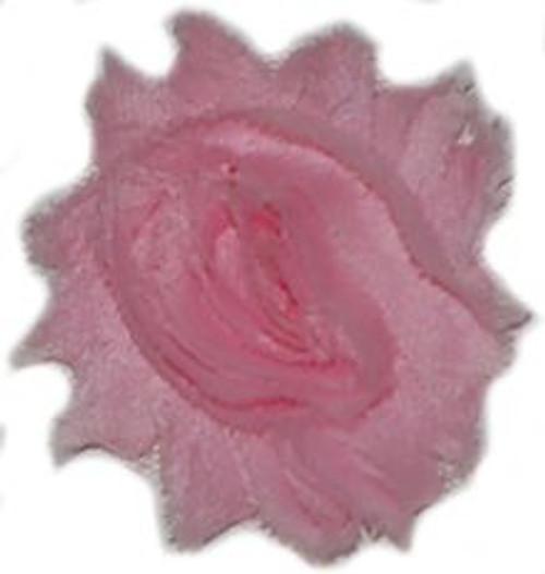 Pink Shabby Chiffon Flowers