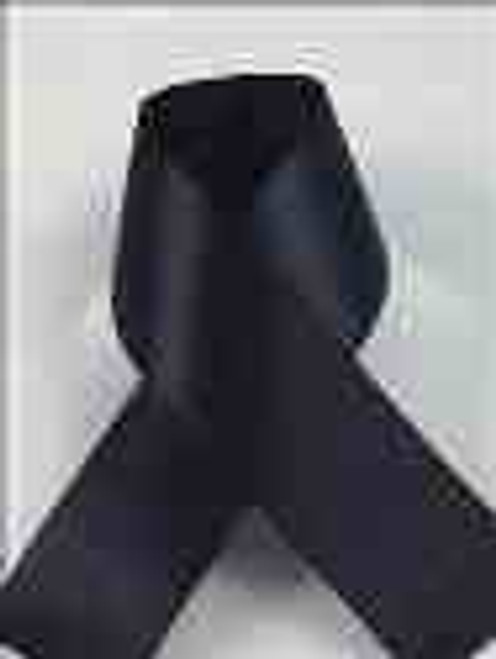 Black Single Faced Satin Wedding Ribbons