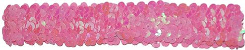 Pink Sequin Stretch Headbands for dance wear. Our Headbands Shine in your hair and look spectacular. Great pricing on Dance wear.