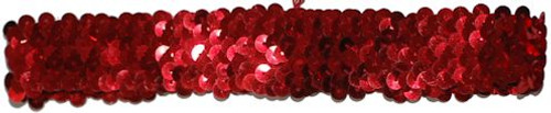 Red Sequin Stretch Headbands for dance wear. Our Headbands Shine in your hair and look spectacular. Great pricing on Dance wear.