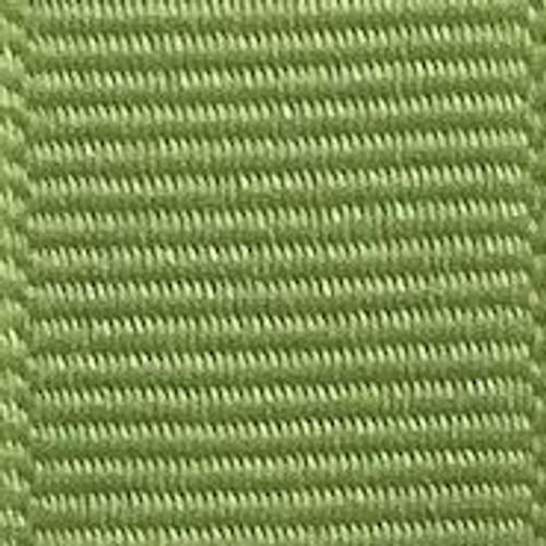 Lemongrass Offray Grosgrain Ribbon