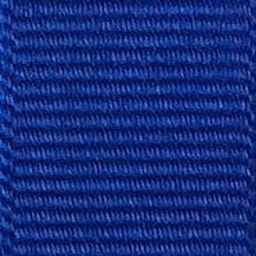 Electric Blue Offray Grosgrain Ribbon
