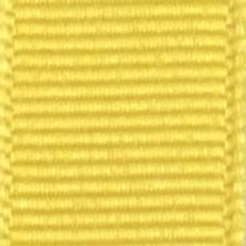 Maize Offray Grosgrain Ribbon