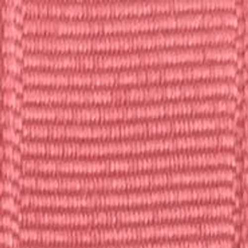 Coral Rose Offray Grosgrain Ribbon