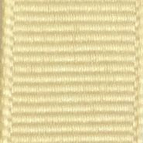 Wheat Offray Grosgrain Ribbon