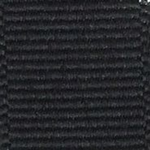 Black Offray Grosgrain Ribbon