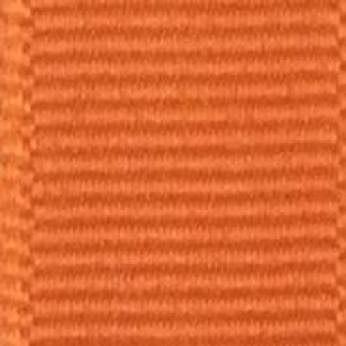 Torrid Orange Offray Grosgrain Ribbon
