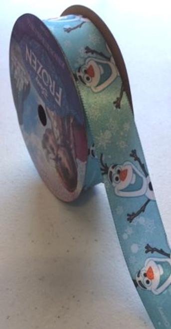 Frozen Olaf Closeup Printed Ribbon