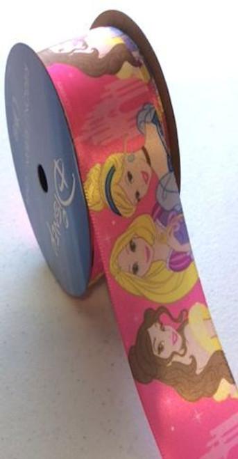 Princess Shocking Pink Castle Ribbon