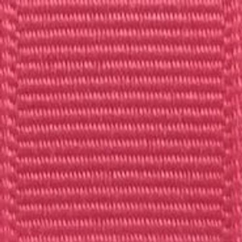 Bright Pink Grosgrain Ribbon
