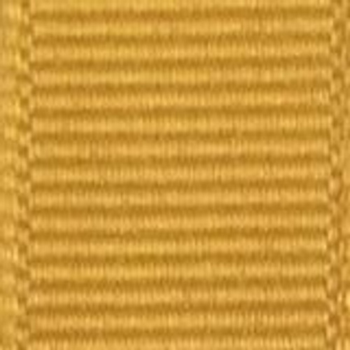 Gold Offray Grosgrain Ribbon