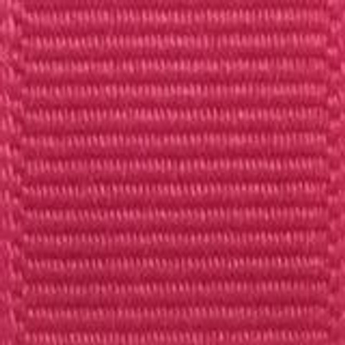 Shocking Pink Offray Grosgrain Ribbon