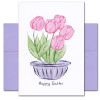 Cover of Boxed Business Easter Card -Easter Tulips