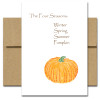 Pumpkin Season Card