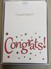 Congratulations Cards in box
