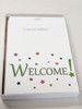 Welcome Cards: Starry - box of 30 blank cards & 32 envelopes