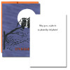 Night Owls Halloween Card inside - May your night be frightfully delightful