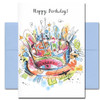Birthday Card - Here's to You. Indide reads: Here's to You and to an amazing year ahead