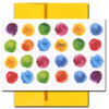 Congratulations Card - Dots features bright watercolor dots and the word Congrats! on the cover