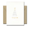 Have Your Cake letterpress card from Albertine Press