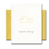 Improves with Age letterpress card from Albertine Press