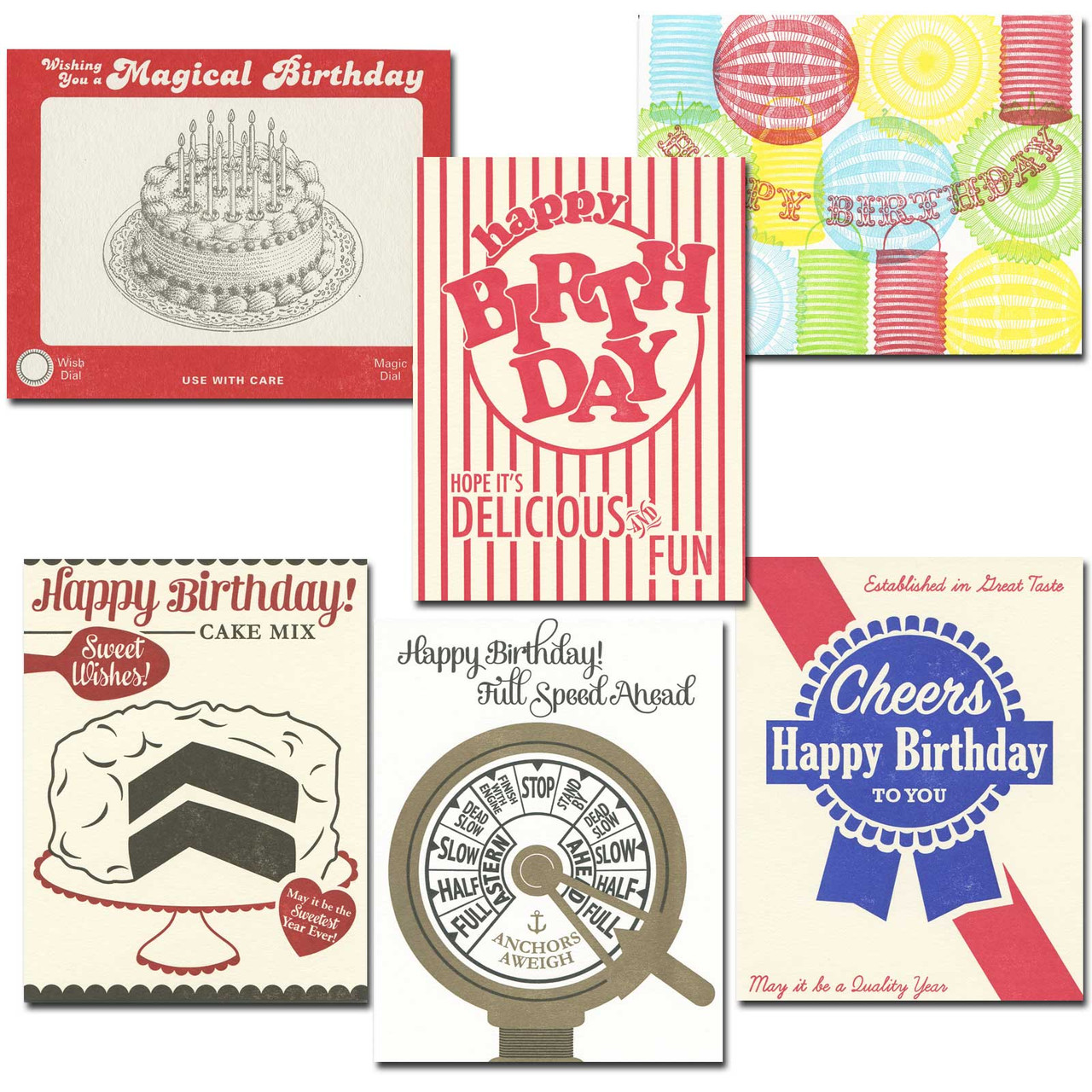 Boomers Only Birthday cards from a. favorite design features classic 1950s designs
