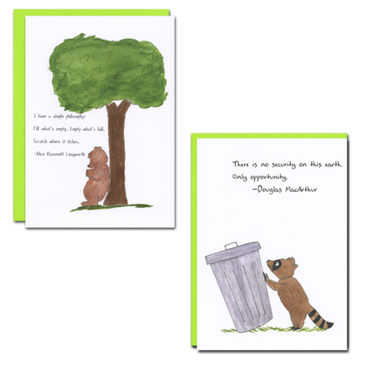All Occasion Quotations: Characters - box of 10 cards & 12 env