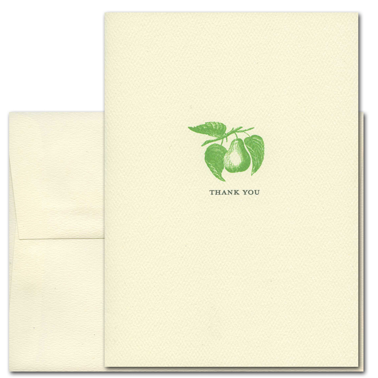 Pear Thank You Card